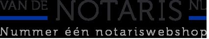 Van de Notaris - Regel jouw notariële akte online!